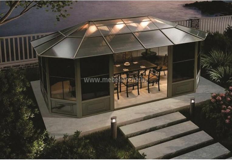 Алуминиева градинска шатра